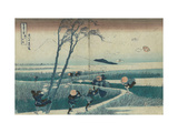 Ejiri in the Suruga Province (from the Series Thirty-Six Views of Mt Fuji)