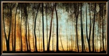 Forêt dorée Reproduction encadrée par Graham Reynolds