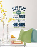 Room for Friends Quote Peel and Stick Wall Decals