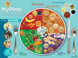 MyPlate for Older Adults Laminated Educational Poster