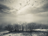 Clouds Over a Lake  Lake Peipsi  Kauksi  Ida-Viru County  Estonia