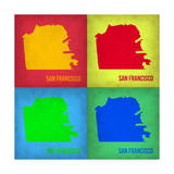 San Francisco Pop Art Map 1