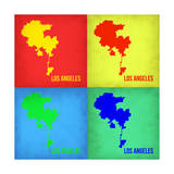 Los Angeles Pop Art Map 1