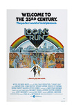 LOGAN'S RUN  US poster  bottom from left: Michael York  Jenny Agutter  1976