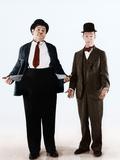 Oliver Hardy  Stan Laurel  ca 1930s