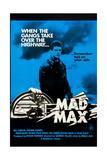 Mad Max  Mel Gibson on Australian poster art  1979