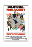 HIGH ANXIETY  US poster  Mel Brooks (top center)  1977