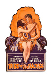 Bird of Paradise  Dolores Del Rio  Joel McCrea on die cut display  1932