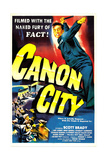 CANON CITY  US poster  Scott Brady  1948