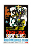 7 Faces of Dr Lao  (aka Seven Faces of Dr Lao)  US poster  Tony Randall  1964