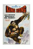 KING KONG ESCAPES  (aka EL REGRESO DE KING-KONG)  Argentinan poster  King Kong  1967