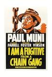 I AM A FUGITIVE FROM A CHAIN GANG  Paul Muni  1932
