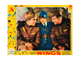WINGS  Buddy Rogers  Clara Bow  Richard Arlen  1927