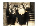 Chase Me Charlie  Charlie Chaplin on lobbycard  1918