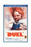 Duel  New Zealand poster  Dennis Weaver  1971