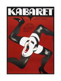 Cabaret  Polish poster  Liza Minelli  1972