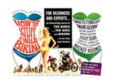 How to Stuff a Wild Bikini  half-sheet poster  1965