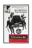 THE THOMAS CROWN AFFAIR  Australian poster  from left: Steve McQueen  Faye Dunaway  1968