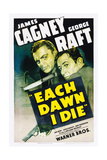EACH DAWN I DIE  from left: James Cagney  George Raft  1939