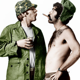 MASH  (aka M*A*S*H)  from left: Donald Sutherland  Elliot Gould  1970