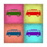 VW Bus Pop Art 1