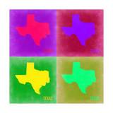 Texas Pop Art Map 2