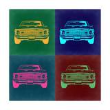 Chevy Camaro Pop Art 2