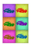 Porsche Pop Art 2