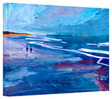 'California Seascape Near Big Sur' Gallery-Wrapped Canvas