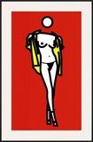 Woman Taking off a Man's Shirt  c2003