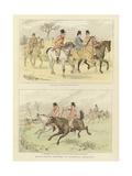 Equestrian Watercolour Sketches
