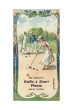 Men and Women Playing Croquet