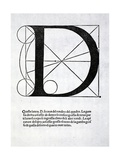 D  Illustration from 'Divina Proportione' by Luca Pacioli (C1445-1517)  Originally Pub Venice …