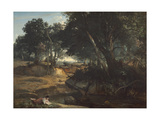Forest of Fontainebleau  1834