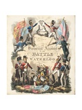 Frontispiece  'An Historical Account of the Battle of Waterloo' by William Mudford  Engraved by…