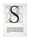 S  Illustration from 'Divina Proportione' by Luca Pacioli (C1445-1517)  Originally Pub Venice …