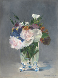 Flowers in a Crystal Vase  C1882