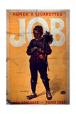 Job Cigarette Paper  1895
