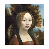 Ginevra De' Benci  C 1474- 78