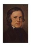 Portrait of Robert Schumann