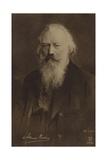Johannes Brahms  German Composer and Pianist (1833-1897)