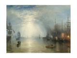 Keelmen Heaving in Coals by Moonlight  1835