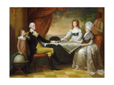 The Washington Family  1789-1796