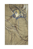 Profile of Woman: Jane Avril; Profil De Femme: Jane Avril  1893