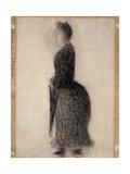 Woman with a Parasol; Femme Au Parapluie  C1883