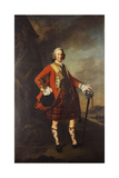 Portrait of John Campbell  4th Earl of Loudon (1705-1782)  Full-Length  in the Uniform of His…