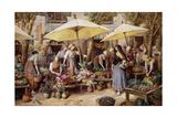 The Flower Market  Toulon