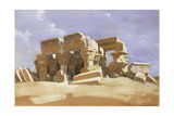 Temple of Kom Ombo  Upper Egypt  1838