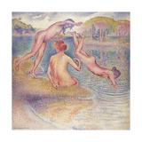The Bathers (The Joyful Bathing); Les Baigneuses (La Joyeuse Baignade)  1899-1902