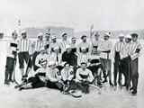 Ice-Hockey Team in St Petersburg  1900s